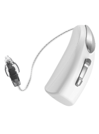 Livio Edge AI micro-contour à ecouteur déporté rechargeable RIC R